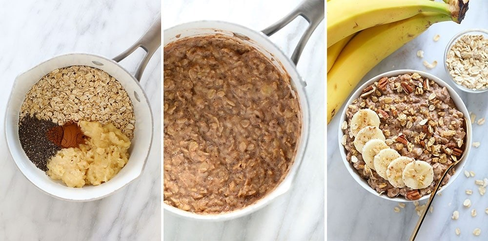 stove top oatmeal how-to