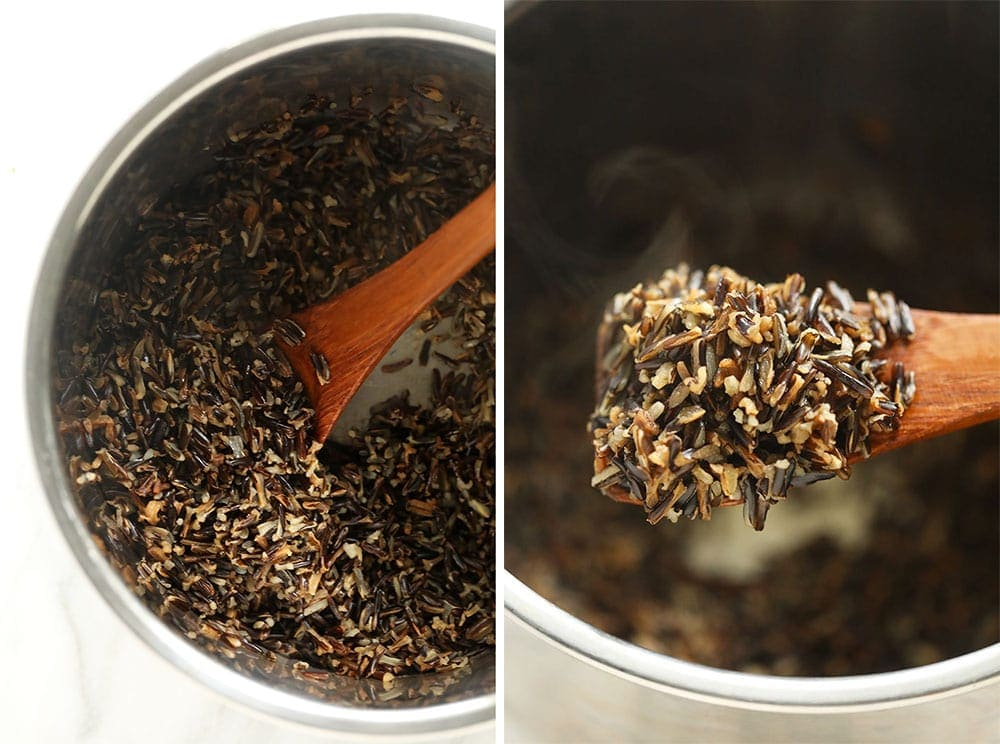 Wild rice in the Instant Pot