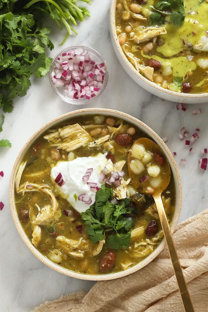 Simple Green Chili Aka Midwestern Chile Verde Fit Foodie Finds