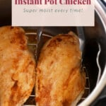 Chicken breast in an Instant Pot.