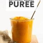 butternut squash puree