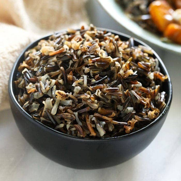 how to cook wild rice  fast   easy
