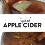 Apple cider with spikes