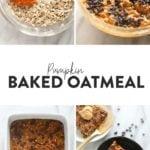 pumpkin baked oatmeal pin