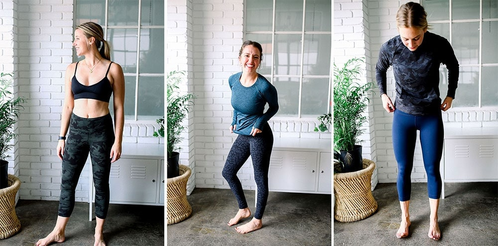 lululemon fall leggings from fit foodie finds