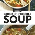chicken noodle soup pin