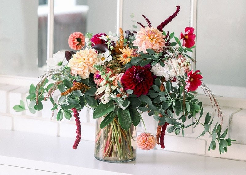 Flower Child Farm floral bouquet