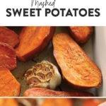 healthy mashed sweet potatoes