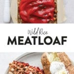 wild rice meatloaf