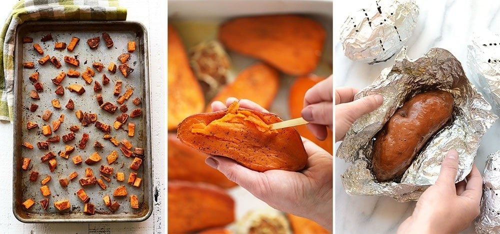Different ways to prepare sweet potatoes