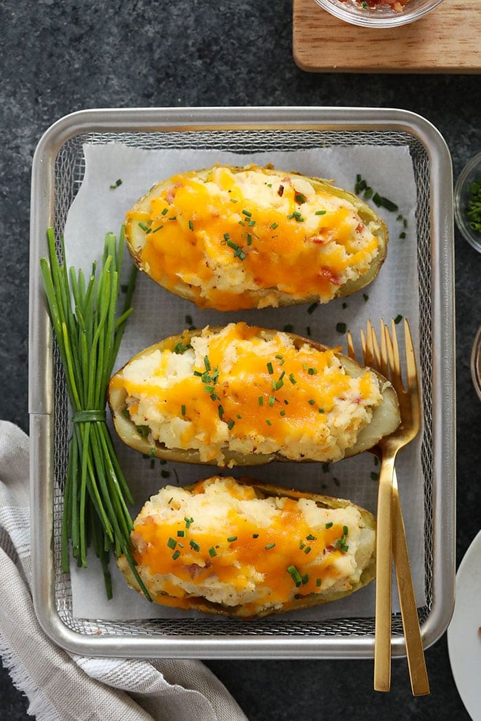 Twice Baked Potatoes Flavorful Moist Fit Foodie Finds