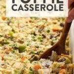 healthy chicken pot pie csaserole