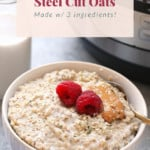steel cut oats pin