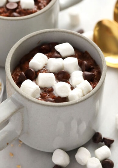 hot cocoa steel cut oats