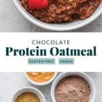 chocolate sea salt protein oatmeal