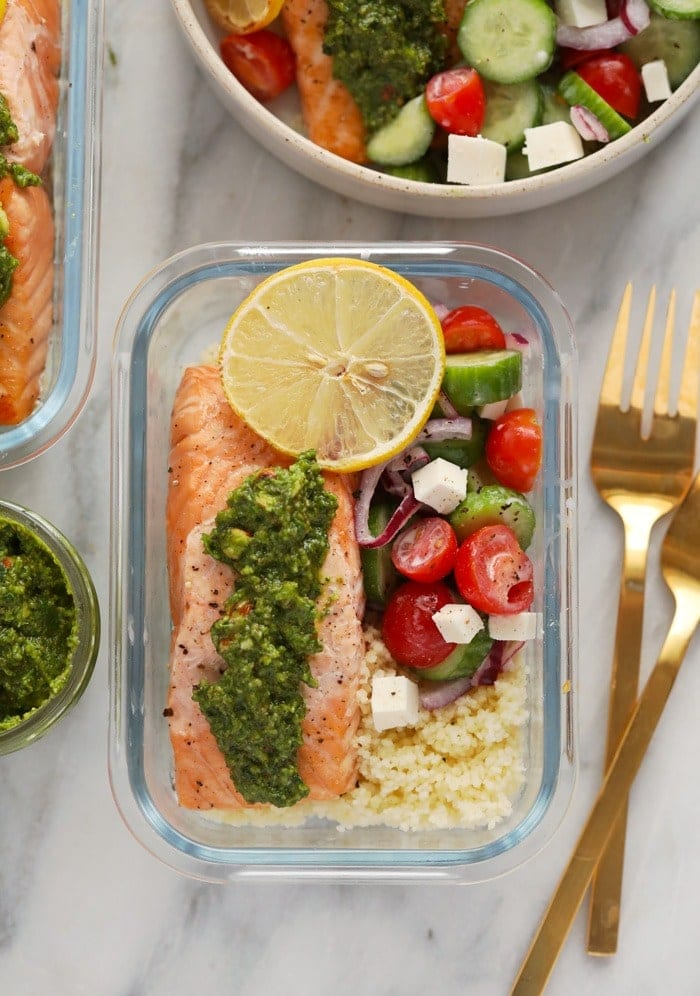 salmon meal prep recipe