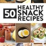 50 healthy snack recipes