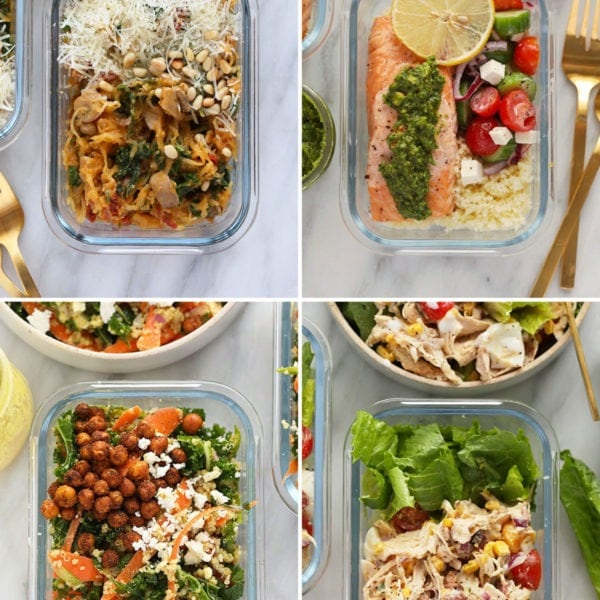 healthy lunch meal prep ideas