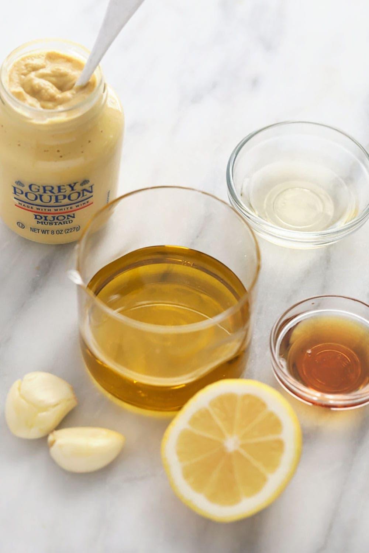 homemande lemon vinaigrette dressing ingredients