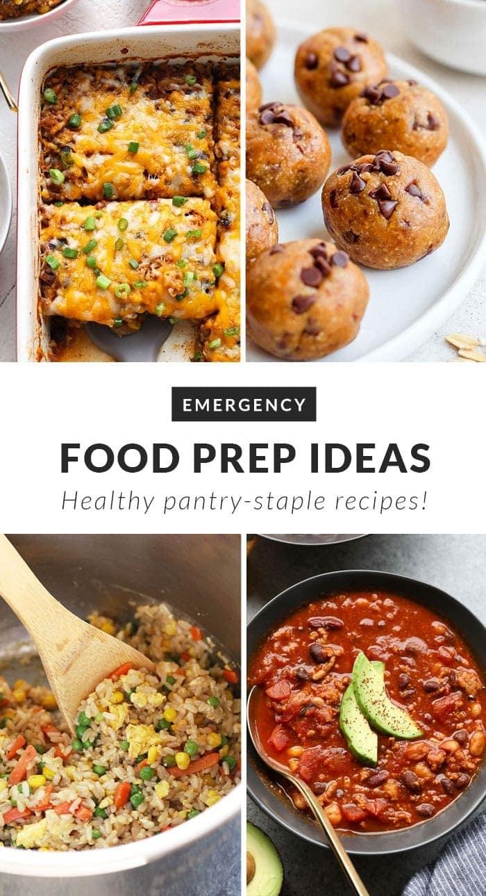 emergency food prep ideas