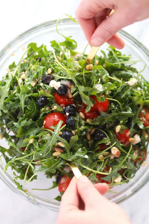 Arugula salad!