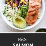 fiesta salmon bowls