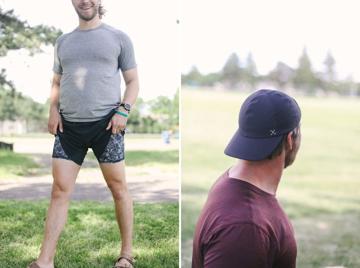 lululemon mens hats and boxers worn by the fit foodie husbands