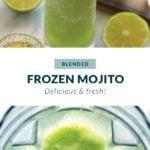 blended mojito pin