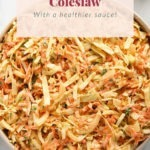 homemade creamy coleslaw recipe for your next BBQ