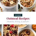 50 best oatmeal recipes pin
