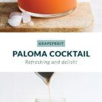 grapefruit paloma cocktail recipe