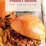 pulled chicken pin image