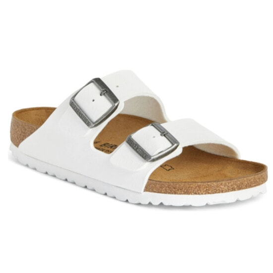 White Birkenstock Arizona Sandal