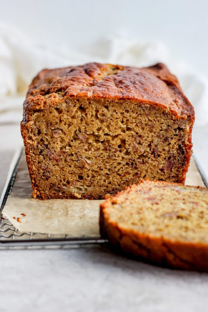 Perfect Healthy Banana Bread Fit Foodie Finds