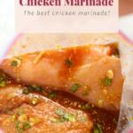 chicken marinating