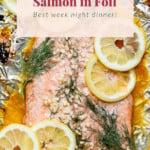 baked salmon pin