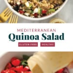 Quinoa salad pin