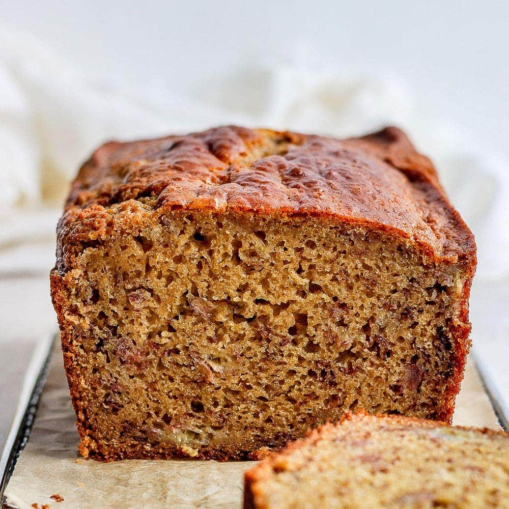 Perfect Healthy Banana Bread | Fit Foodie Finds