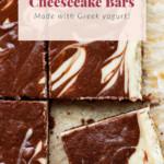 Chocolate cheese cake bars