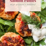 leftover salmon patties