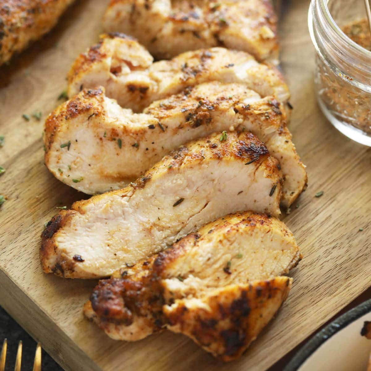 Juicy Pan Seared Chicken Breast Stovetop Chicken Breast Fit Foodie Finds