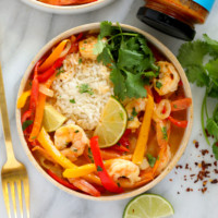 Shrimp Panang Curry