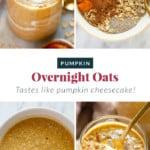 overnight oats in jar