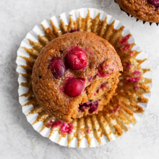 cranberry orange muffin