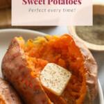 baked sweet potato pin