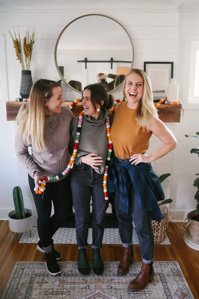 fit foodie finds wearing lululemon in front of a fire place