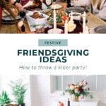 friendsgiving ideas