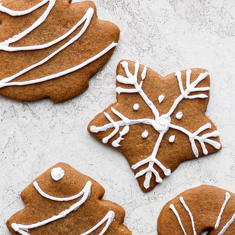 Soft Gingerbread Cookies The Best Fit Foodie Finds