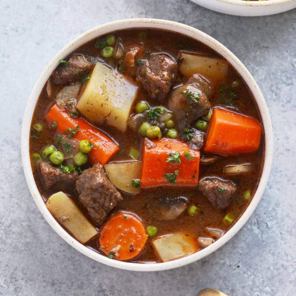 Slow Cooker Beef Stew Healthy Ingredients Fit Foodie Finds