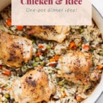 chicken and rice pin